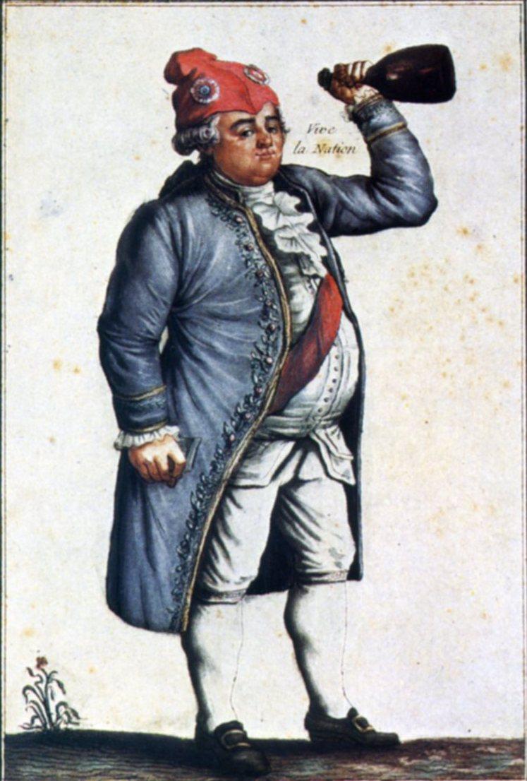 """Résultat de recherche d'images pour """"Le 20 juin 89, le roi Louis XVI se coiffe du bonnet rouge Images"""""""